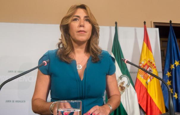 Susana Díaz se reúne este lunes con los líderes políticos para buscar posición consensuada sobre financiación autonómica