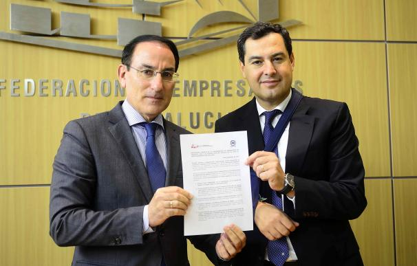 """CEA muestra en una declaración conjunta con PP-A su apoyo """"unánime y sin fisuras"""" a Gobierno por deriva soberanista"""