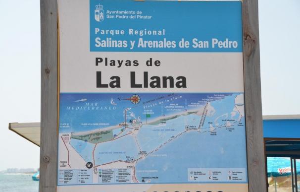 """Cs pide actuaciones para frenar """"el constante proceso de regresión"""" de la playa de La Llana"""