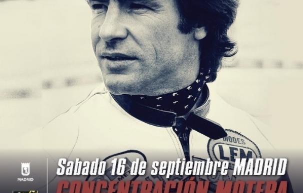 Convocan una concentración motera en el Santiago Bernabéu en memoria de Ángel Nieto el próximo sábado