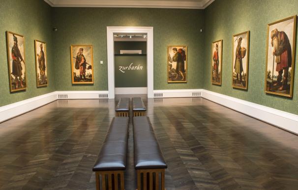 """Zurbarán llena de """"exotismo y color"""" el Museo Meadows de Dallas con su primera serie completa en EEUU"""