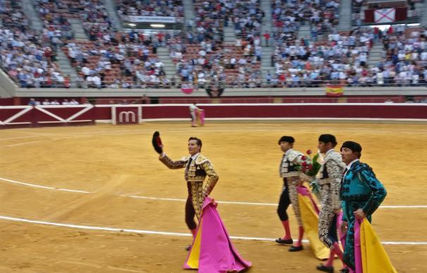 Oreja escasa para premiar una gran faena de Urdiales en la cuarta de feria de San Mateo en Logroño