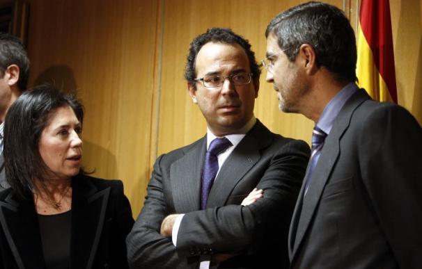 Miguel Temboury durante su toma de posesión en diciembre de 2011 / Ballesteros (EFE)