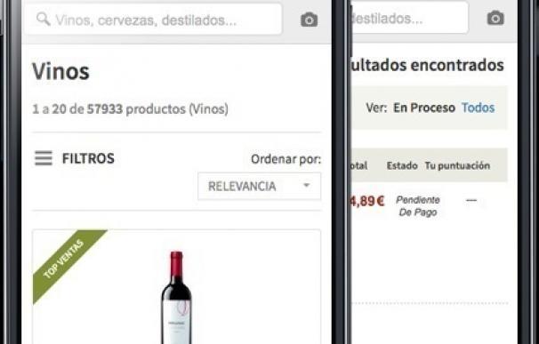 La venta de vino a través de 'smartphones' se dispara un 80% en el verano