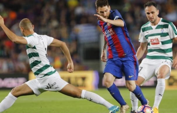 El Eibar pone a prueba la imbatibilidad del Barça