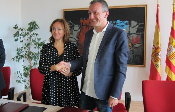Gobierno de Aragón y Ayuntamiento colaboran para conservar y restaurar el patrimonio de la ciudad