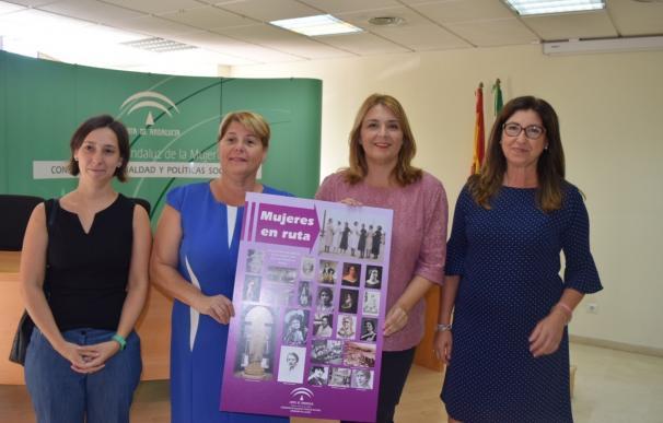 Organizan rutas por calles de Málaga capital para dar visibilidad a mujeres emblemáticas de la historia