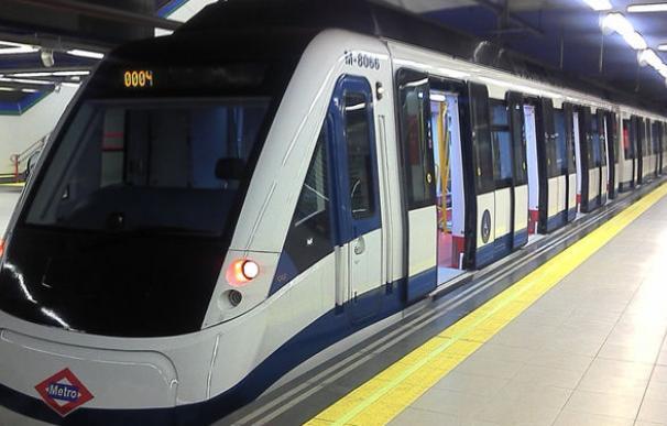 Vagón de Metro Madrid.