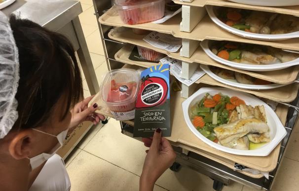 El Hospital Regional acoge una jornada de promoción de alimentación saludable y productos de cercanía