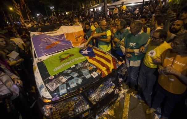 La Policía espera que 3.000 antisistema europeos lleguen a Barcelona para el 1-O