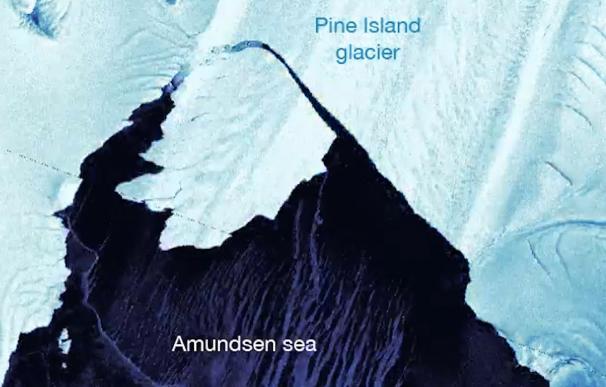 El glaciar más inestable de la Antártida sufre un colapso en su frente