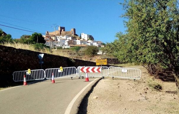 La DPZ comienza el arreglo de la carretera de acceso a Trasmoz