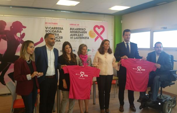Pamplona acogerá el 29 de octubre la 'VI Carrera Solidaria contra el Cáncer de Mama' de SARAY