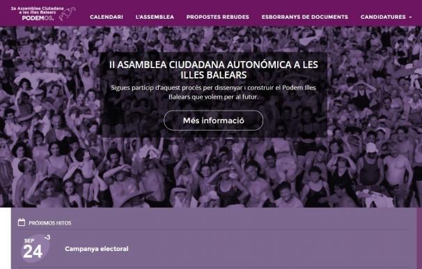 Las candidaturas a la Secretaria General de Podemos Baleares se someten en Ibiza a las preguntas de los militantes
