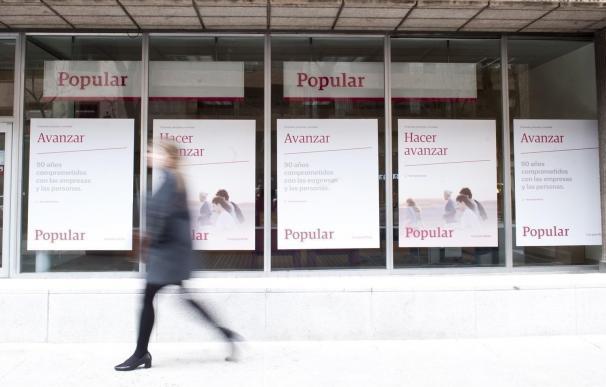 Popular recuperó casi 4.000 millones en depósitos en un mes tras su adquisición por Santander