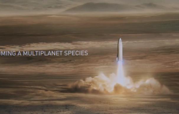 El cohete de SpaceX para viajar por la Tierra.