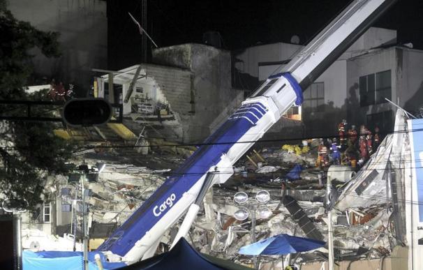 El terremoto de México devastó edificios enteros.