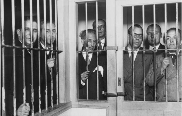 Companys y el gobierno de la Generalitat presos tras la insurrección de 1934