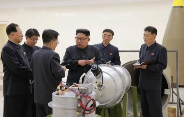 La bomba de hidrógeno de Corea del Norte.