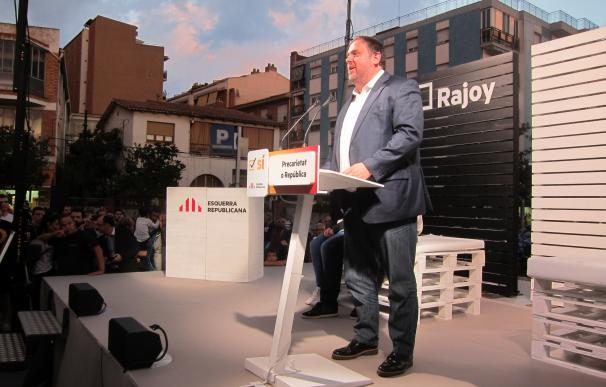"""Junqueras afirma que los Mossos no pueden """"coartar los derechos de los ciudadanos"""""""