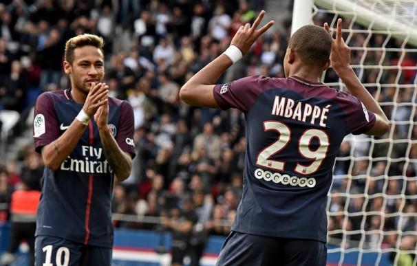 El PSG de Neymar empieza a dar miedo