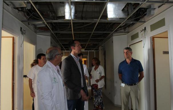 Junta invierte este verano casi 300.000 euros en obras de reforma en los hospitales de la provincia