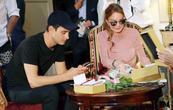 Lindsay Lohan, la estrella del desfile de Palomo Spain