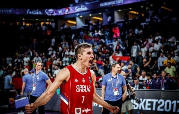 Serbia supera a Rusia y se medirá a Eslovenia por el trono europeo