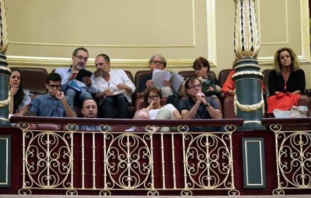 El tripartito Cs, Podemos y PSOE deja al PP fuera del control político de RTVE
