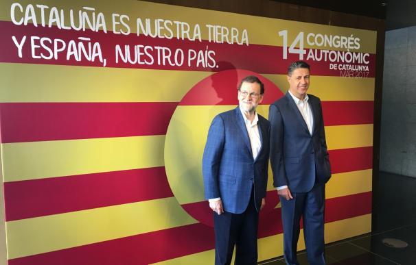 """Rajoy bendice a Albiol como """"gestor eficaz"""" que hará del PP el partido central de Cataluña"""