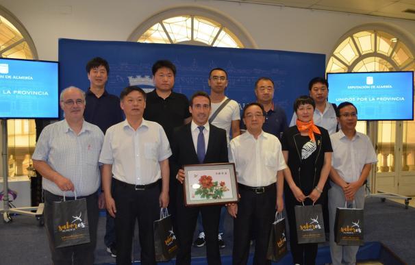 La Diputación y la región china de Hebei estudian relaciones comerciales en agroalimentación y tecnología