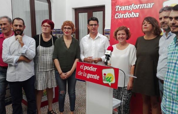 """Pedro García logra una candidatura unitaria para dirigir IU tras """"muchos años"""" de """"batallas internas"""""""