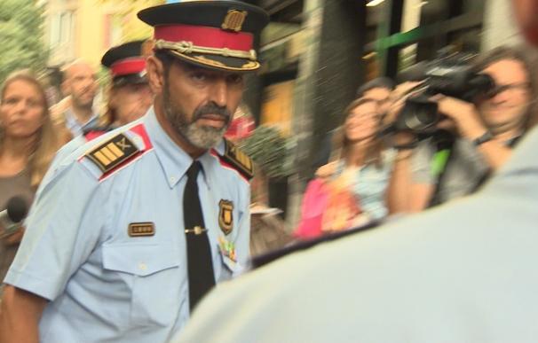 Trapero acudirá a la reunión de este miércoles en la Fiscalía Superior de Cataluña