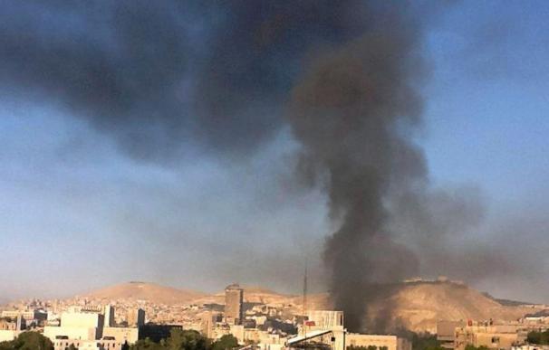 La ciudad de Alepo, cuando fue capturada por los rebeldes.