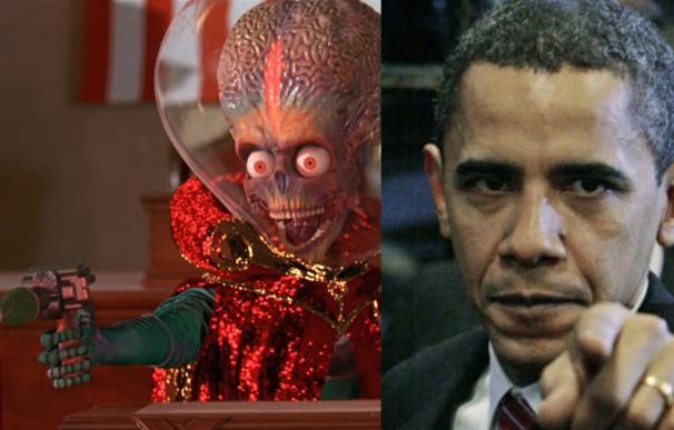 Los estadounidenses creen que Obama les defendería mejor que Romney de una invasión extraterrestre