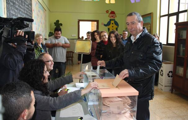 """Valencia.- Baldoví, convencido de que serán unas elecciones """"históricas"""" y se conseguirá un Parlamento """"más plural"""""""