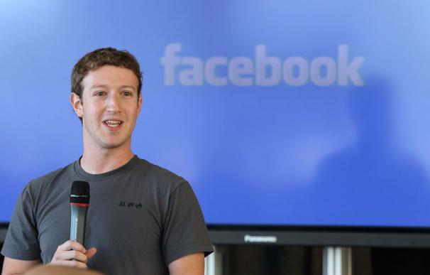 En la imagen, Mark Zuckerberg, creador de Facebook