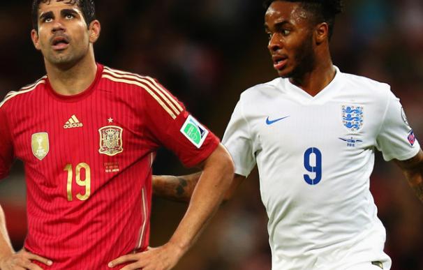 Del Bosque buscará el gol ante Inglaterra con la dupla Costa-Alcácer / La Información.
