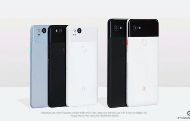 Pixel 2 y Pixel 2 XL