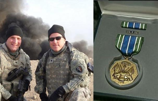 Un veterano de Irak, arruinado y en paro, obligado a vender sus condecoraciones en internet para dar de comer a su familia
