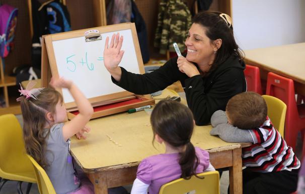 Foto de recurso de un colegio en EEUU