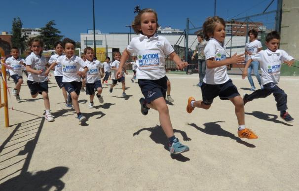 La XVIII Carrera contra el Hambre congrega a 53.000 alumnos para evitar que 8.500 niños mueran por desnutrición cada día