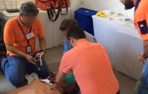 Una delegación del 061 se desplaza a El Salvador para formar en atención a pacientes politraumatizados y cardiológicos