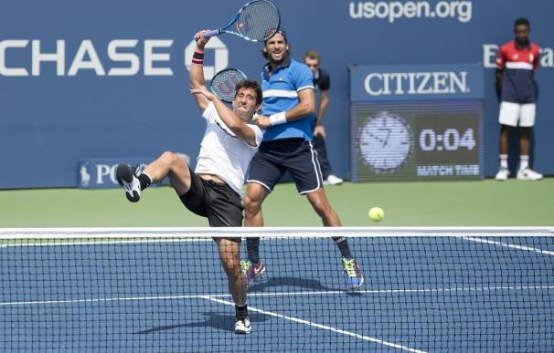 Feliciano y Marc López tumban a las hermanos Bryan para acceder a la final del US Open