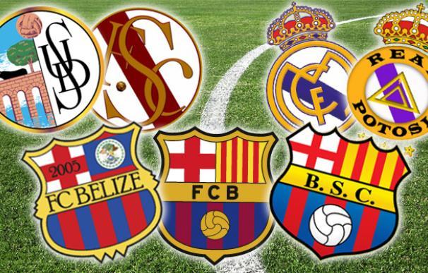 Real Madrid, Barcelona y UD Salamanca, entre los equipos plagiados.