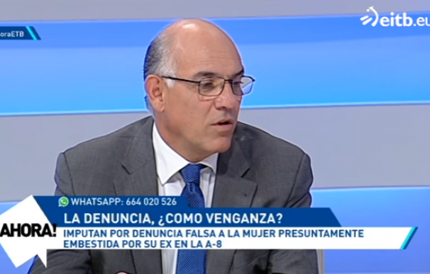 Miguel Alonso Belza, en la imagen, era un habitual de los medios de comunicación para hablar sobre Violencia de Género, por lo que su abogado resalta el daño que le está haciendo a su imagen la imputación por malos tratos que pesa sobre él.