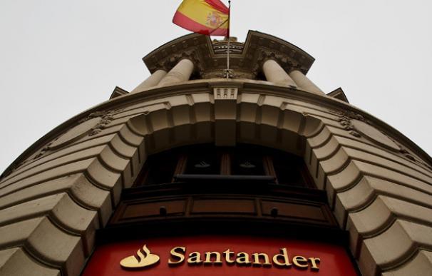Una de las sedes del Banco Santander en España.