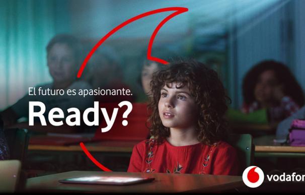 Una de las imágenes de la nueva campaña de Vodafone