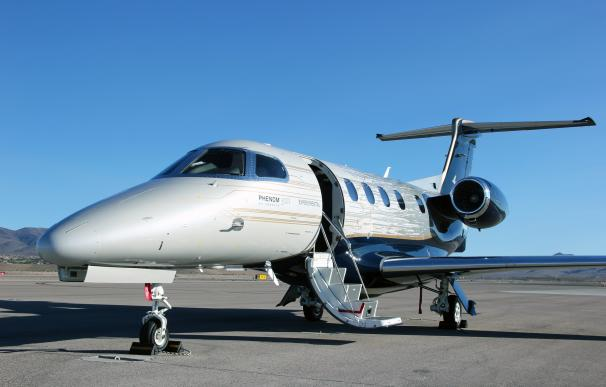 El Phenom 300E de Embraer.