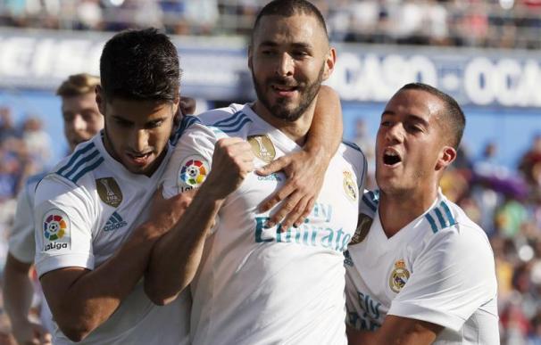 Benzema igual a Gento como séptimo máximo goleador del Real Madrid